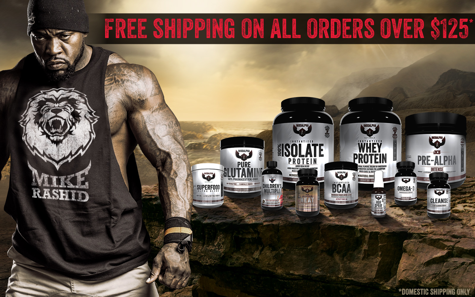 ImSoAlpha - Free Shipping Over $125