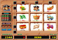 Golden Treasure Island Main Game
