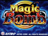 Magic Bomb - 8 Line CGA Game By Astro
