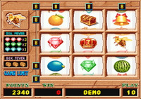 Queen Bee Main Game Fruit Graphics