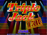 Triple Jack 15R - 25 Line VGA or CGA Game By Dyna
