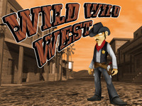Wild Wild West Title Screen