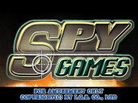 Spy Games Title Screen