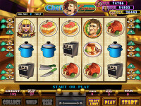 Chef Express Game By IGS - VGA 9 or 25 Liner