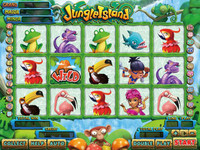 Jungle Island - 25 Line VGA Game By Borden