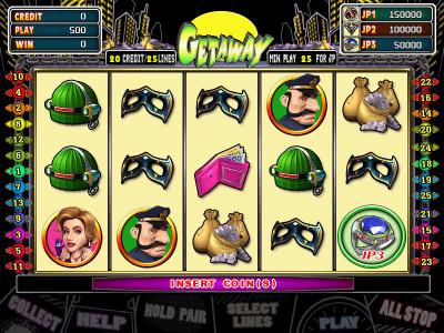 Getaway Main Game 25-Liner