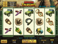 Mayan Treasures Main Game 1