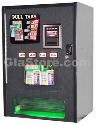 Pull Tab Dispenser - 4 Column - Table Top Side 1