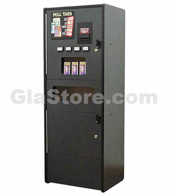 Pull Tab Dispenser - 4 Column - Stand Alone Side 1