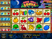 Super Bugs Bonus Main Game 25-Liner