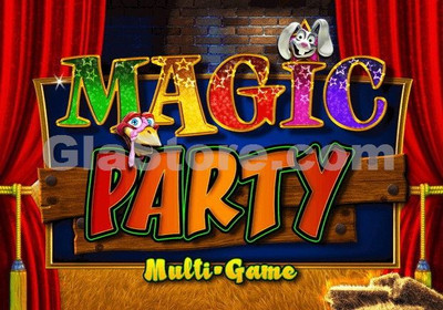 Magic Party Title Screen