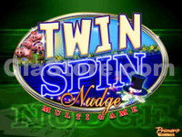 Twin Spin Nudge Title Screen