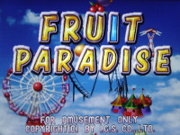 Fruit Paradise Title Screen