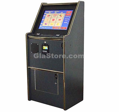 """Upright 2 in 1 Cherry Master Cabinet - 22"""" LCD Side 1"""