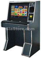 "Sit Down 2 in 1 Cherry Master Cabinet - 22"" LCD Touchscreen Side 1"