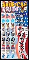 American Pride Pre-Paid Phone Card Pull Tabs