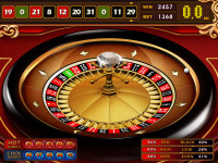 Royal Club Roulette Main Game Upper Screen