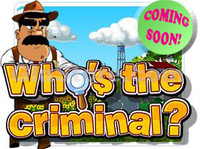 Who's the Criminal Title Screen
