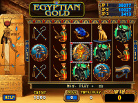 Egyptian Gold Main Game