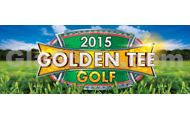 Golden Tee Golf 2015 Title Screen