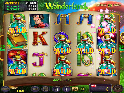 Wonderland Wild Feature
