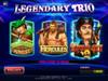 Legendary Trio Game Menu