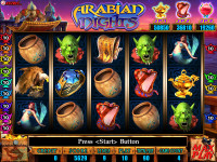 Arabian Nights - 9 Line VGA Game By Astro