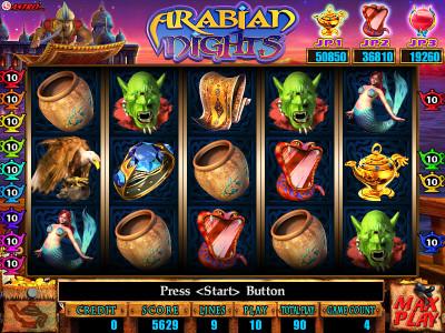 Arabian Nights Main Game