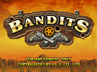 Bandits Game By IGS - VGA 9 or 25 Liner