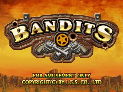 Bandits Title Screen