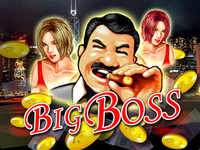 Big Boss - 8 Line CGA Game By Subsino