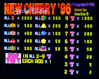 Cherry 96 - 8 Liner CGA Game By Amcoe