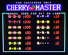 Cherry Delight Title Screen with Odds
