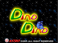 Dino Dino - 9 Line CGA Game By Astro
