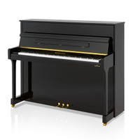 Bechstein B120 in polished ebony