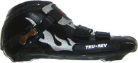 TruRev inline speed skating boot professional - black