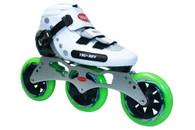 TruRev TimeWarp Series: 3 Wheel 110mm Skate Package