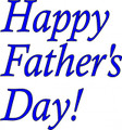 Wall Decals and Stickers - Happy father's day!