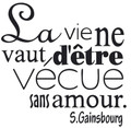 Wall Decals and Stickers-Foreign quote (22)