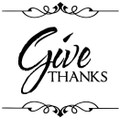 Wall Decals and Stickers-Give thanks