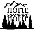 Wall Decals and Stickers-Home sweet home