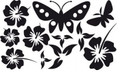 Wall Decals and Stickers-Butterflies