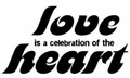 Wall Decals and Stickers-Love is a celebration of the heart 
