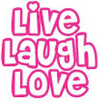 Wall Decals and Stickers -Live laugh love