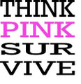 Wall Decals and Stickers -- Think pink survive