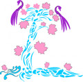 Wall Decals and Stickers -- Decorative tree with Peacocks