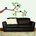 Wall Decals and Stickers -- Tree Branch with Birds