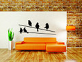 Wall Decals and Stickers – Birds on a wire