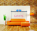 Wall Decals and Stickers – love birds and love words