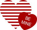 Wall Decals and Stickers –  be mine heart
